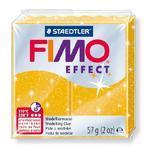 FIMO Effect 57 g č. 112 - zlatá se třpytkami