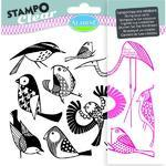 StampoClear Gelová razítka - Ptáčci