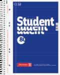 Student blok A5, linka 80 listů spirála