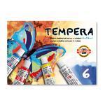 Temperové barvy - 6x16 ml