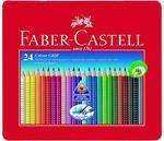 "Faber-Castell Pastelky Grip 2001 - 24 ks i pro ""L"""