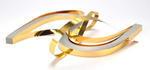 Proužky na Quilling metal zlaté  53x0,6 cm,100 ks