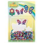Hama Midi Korálkový set - Motýl a květina
