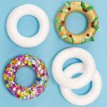 Polystyrenové kroužky - 9cm, 10 ks