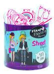 StampoFashion Převlékací panenky - Street style