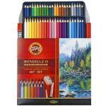Mondeluz Akvarelové pastelky - 48 ks v papíru