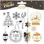 StampoClear Gelová razítka - Vánoce v klasickém stylu