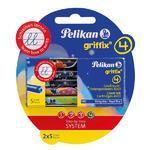 Pelikan Inkoustové bombičky Griffix 4 - královská modrá, 10 ks