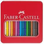 Faber-Castell Pastelky Jumbo Grip - 16 ks v kovové etui i pro L