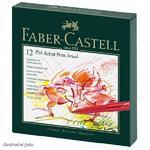 Faber-Castell PITT Artist Pen Brush - Atelier Box 12 ks