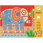 Djeco Výtvarná sada Mozaika - Slon a šnek