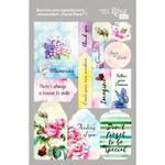 Visačky 12.8 x 20 cm - Floral Poem 1