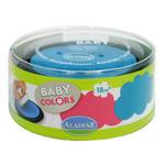 StampoBaby - tyrkysová a růžová poduška