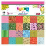 """Dekorativní papír 30x30 cm """"Spring"""" 24 listů"""