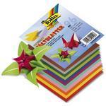 Papíry origami 13x13 cm - 96 listů, 12 sytých barev