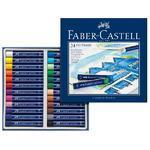 Faber-Castell QUALITY Olejové pastely - 24 ks