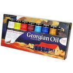 Daler & Rowney Georgian Oil - Classic Set, 8 x 75 ml