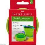 Faber-Castell Kelímek na vodu Clic&Go - zelený