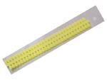 Proužky na Quilling na lístečkové kytičky - žluté