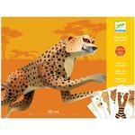 Origami skládačka - Velký jaguár
