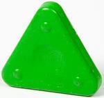 Vosková pastelka TRIANGLE MAGIQUE NEON - chromově zelená
