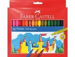 Faber-Castell Popisovače papírová krabička - 36 ks