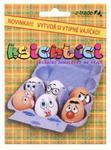 Samolepky na vajíčko -Ksichtíci