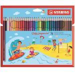 STABILOaquacolor  Sada pastelek - 36 ks, pro děti