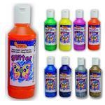 Jovi Temperové barvy glittrové 250 ml - oranžová