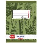 Školní sešit A5 545, bezdřevý čtverečkovaný - 40 listů
