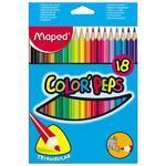 "Maped Color´Peps Pastelky trojhranné 18 ks i pro ""L"""