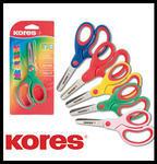 Dětské nůžky KORES Soft Grip 13cm