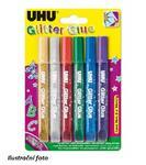 UHU Glitter Glue Original  Lepidlo 6x10ml