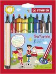 Stabilo Trio Scribbi 368/8-01 Fixy odpružený hrot, 8 ks i pro L