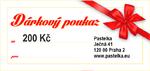 Dárkový certifikát  200 Kč