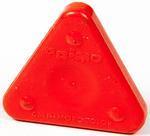 Vosková pastelka TRIANGLE MAGIQUE BASIC - šarlatově červená