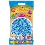 Hama MIDI Zažehlovací korálky  1000 ks - pastelově modré