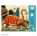 Djeco Výtvarná sada - Mozaika Dinosauři