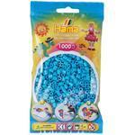 Hama MIDI Zažehlovací korálky  1000 ks - azurově modré