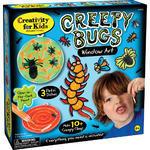 Kreativní sada Creepy Bugs Window Art