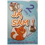 "Naučná knížka se samolepkami ""Já sám!"" - Kočka"