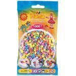 Hama MIDI Zažehlovací korálky  1000 ks - mix pastelových barev