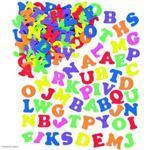 Pěnové samolepky - Velká písmena, 1100ks