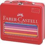 Faber-Castell Pastelky Jumbo GRIP v plechovém kufříku - 22 ks