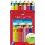 Faber-Castell, 112442 Pastelky Colour Grip - sada 36 ks