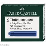 Faber-Castell Inkoustová bombička modrá - 6 ks