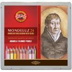 Mondeluz Akvarelové pastelky - Portrét, 24 ks v plechu