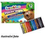 Bambino Olejové pastely - 12ks