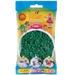 Hama MIDI Zažehlovací korálky  1000 ks - zelené