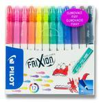 PILOT FriXion Colors Gumovací fixy - Sada 12 ks